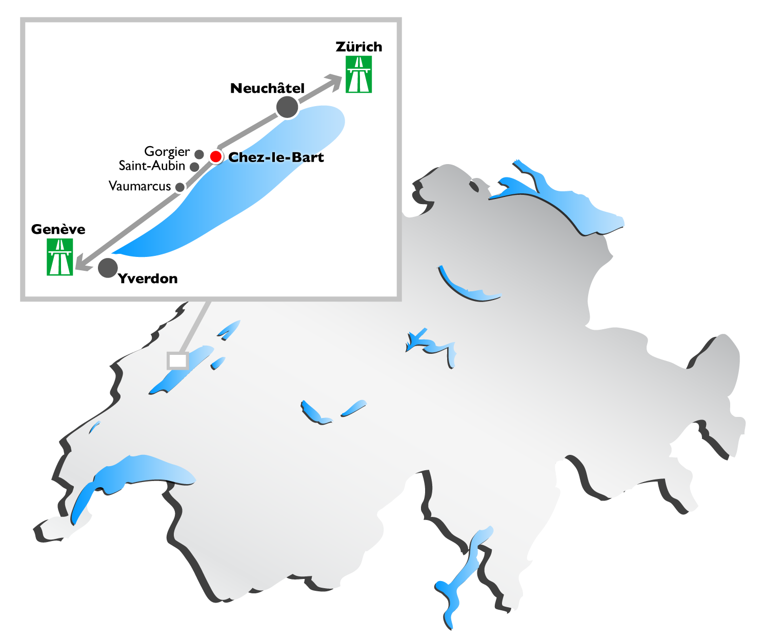 Geographic location for Location yverdon suisse